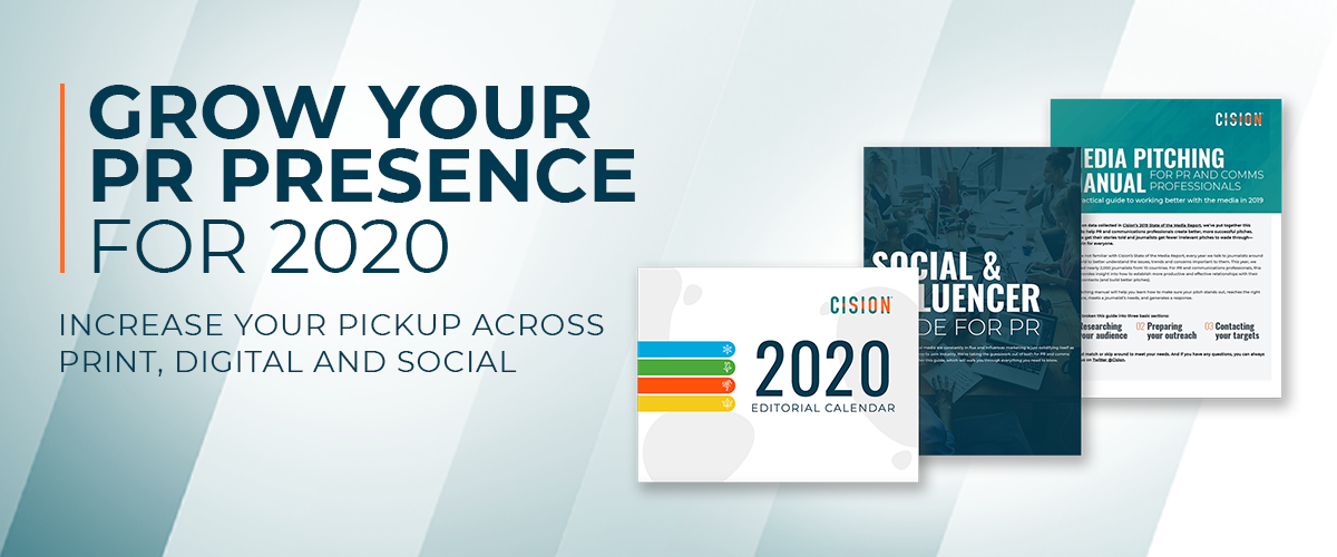 Use this toolkit to grow your PR presence in 2020